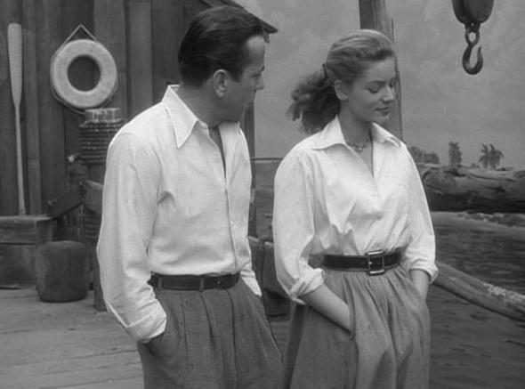 Lauren Bacall's style-Key Largo