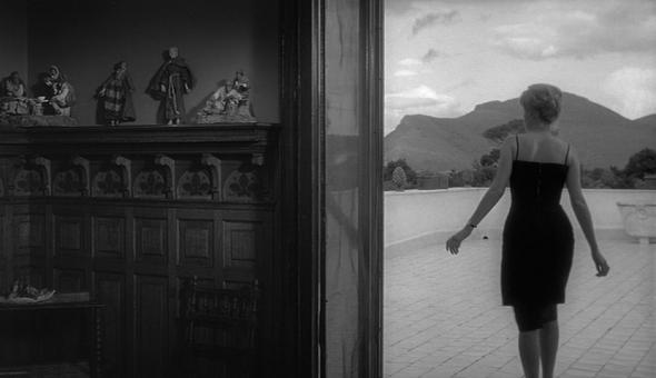 Styl in film-Monica Vitti in L'Avventura