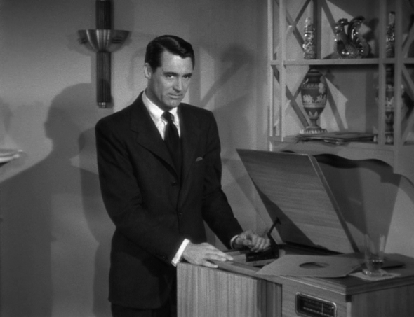 Style in Film-Cary Grant in Notorious-1