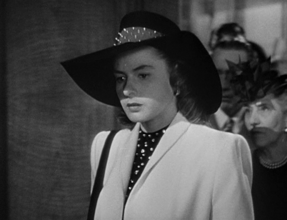 Style in Film-Ingrid Bergman in Notorious