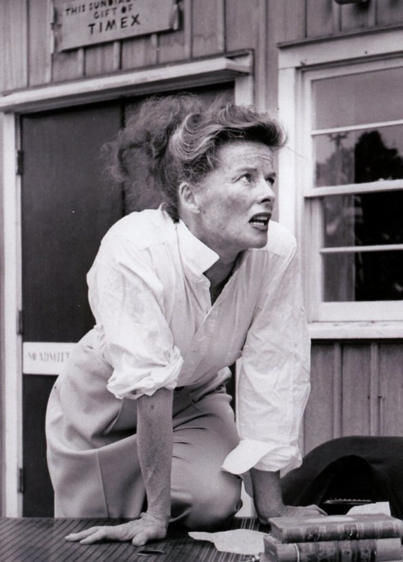 Style note-Wide legged trousers-Katharine Hepburn