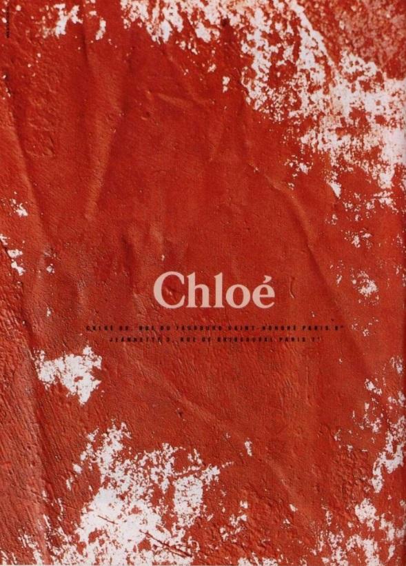 Chloe Spring 1990-Linda Evangelista by Max Vadukul