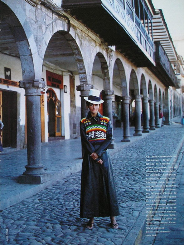 Glamour August 1993-Helena Christensen-Mario Testino-Carine Roitfeld