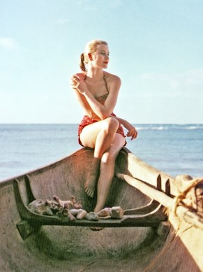 Grace Kelly by Howell Conant Jamaica 1955-6