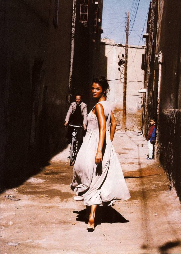 Helena Christensen-Our Woman in Havana Vogue UK March 1994