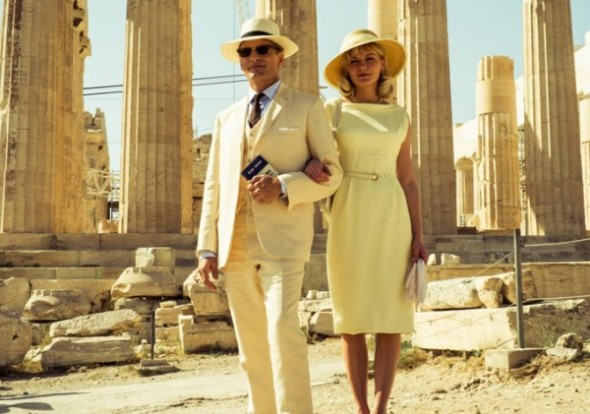 Style in film-Kirsten Dunst and Viggo Mortensen The Two Faces of January
