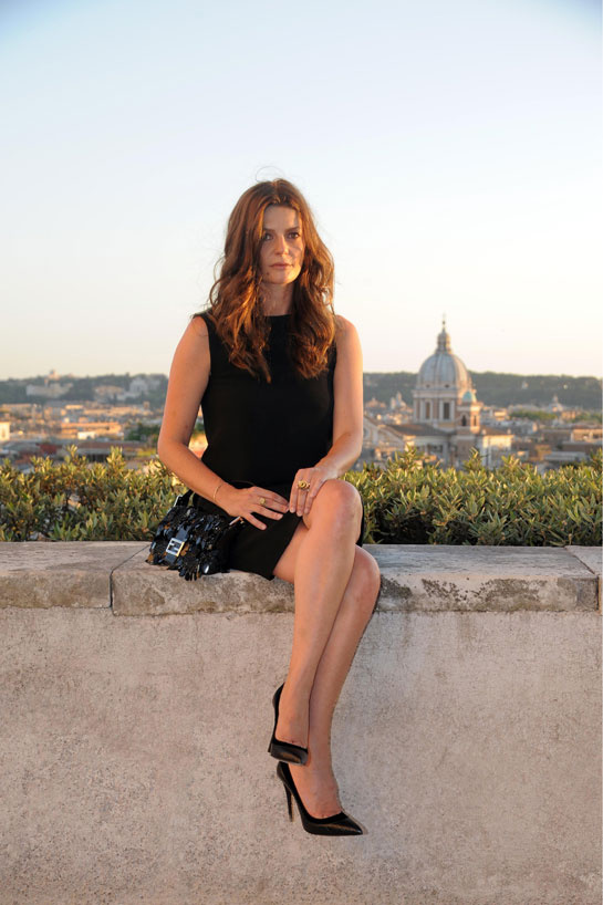 The little black dress and Rome