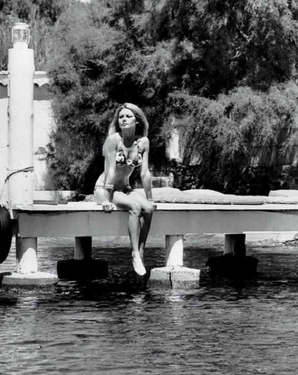 Brigitte Bardot by Robert Cohen - La Madrague St Tropez 1968
