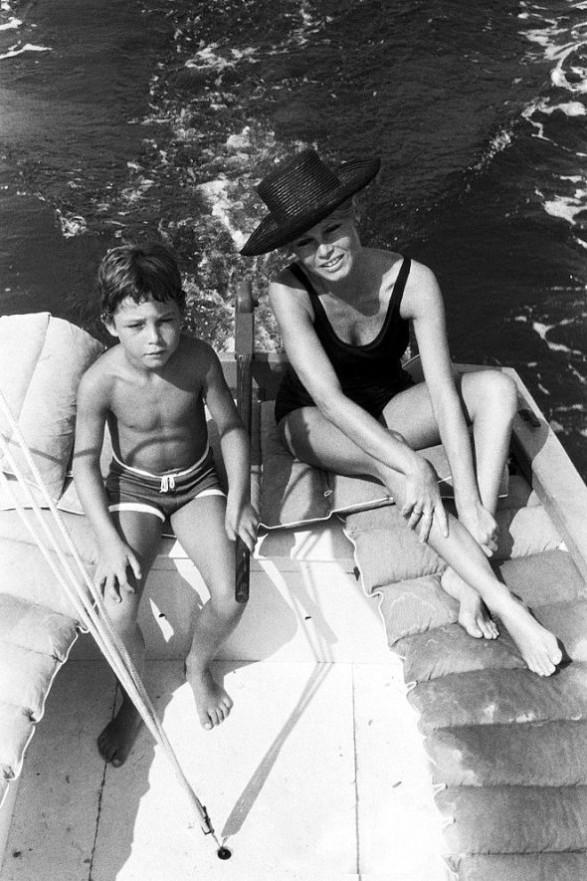 Brigitte Bardot photographed by Jean Pierre Bonnotte