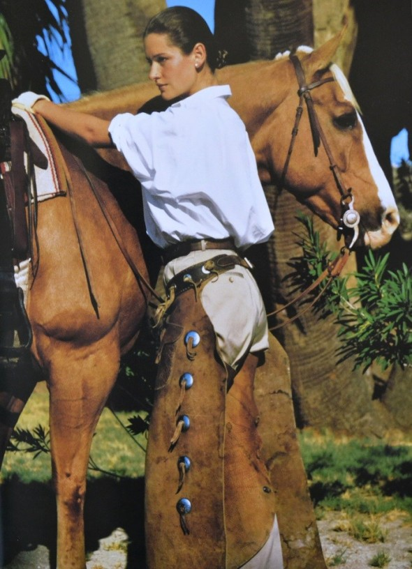 Isabelle Townsend by Bruce Weber-Ralph Lauren 1988