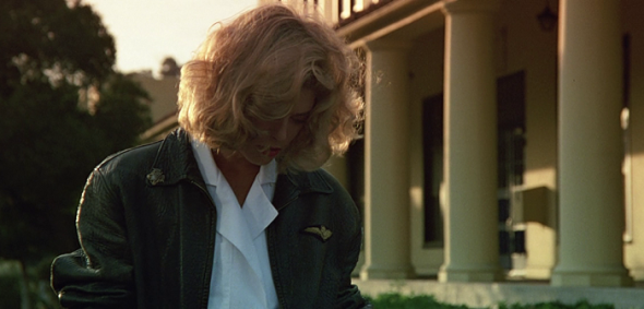 Kelly McGillis' style in Top Gun-1