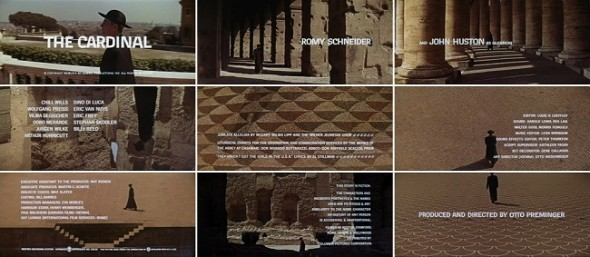 The Cardinal title sequences by Saul Bass