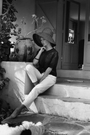 The summer look of Brigitte Bardot-La Madrague St Tropez