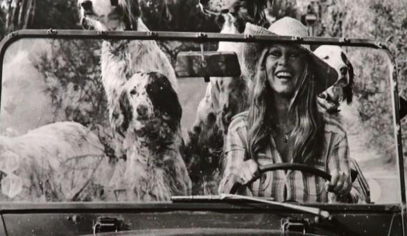 The summer look of Brigitte Bardot