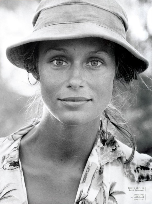 The summer look of-Lauren Hutton