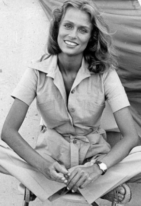 The summer look of Lauren Hutton_1