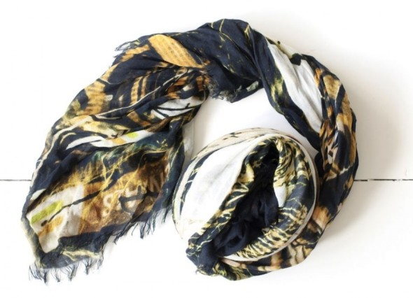 Bird and Knoll-New York Concrete Jungle Scarf