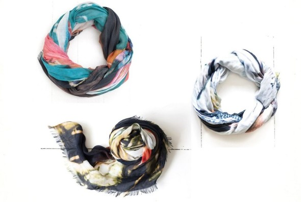 Classiq-Bird and Knoll scarves