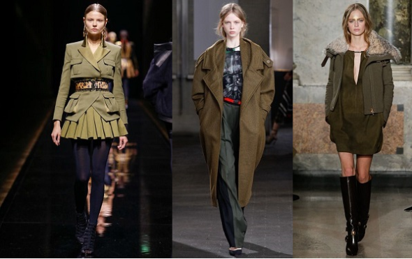 Classiq-Fall Winter 2014 Trends I Can Work-Military Green