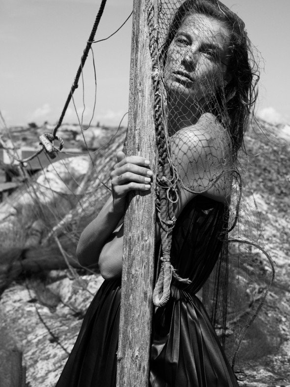 Daria Werbowy by Mikael Jansson Interview magazine Sept 2014