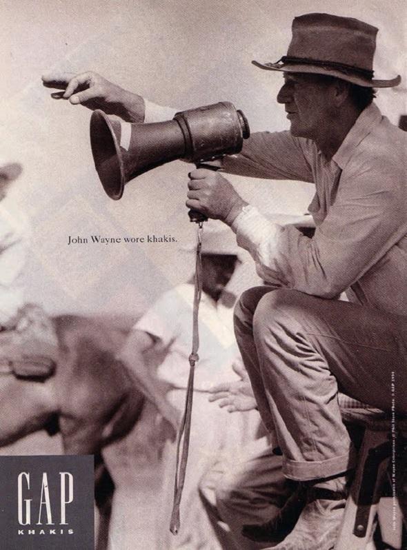 John Wayne Gap campaign