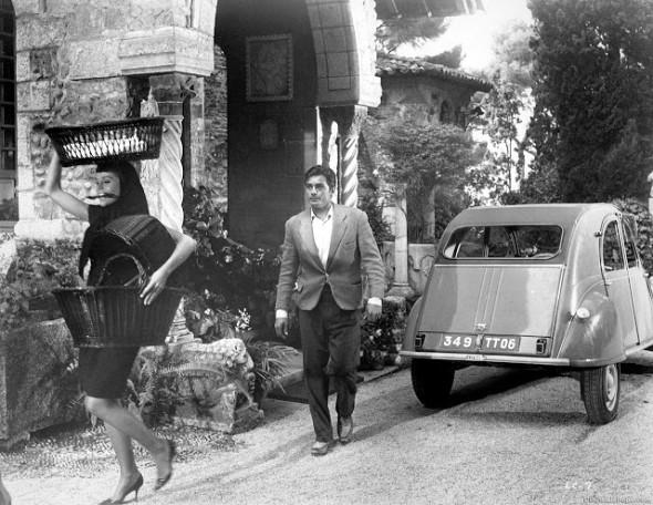Style in Film-Jane Fonda and Alain Delon in Les Felins-1
