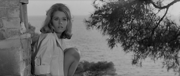 Style in film-Jane Fonda in Les Felins-2
