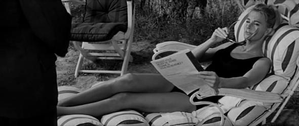 Style in film-Lola Albright in Les Felins-1