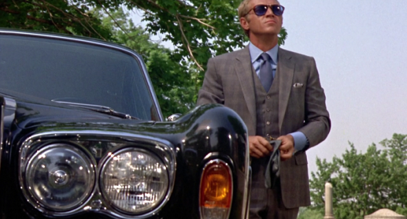 Style in film-Steve McQueen in The Thomas Crown Affair
