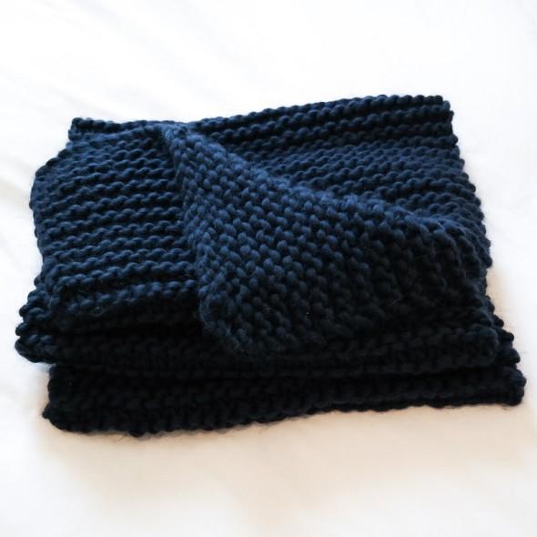 Common Era Knits-Mercer St. Blanket Scarf