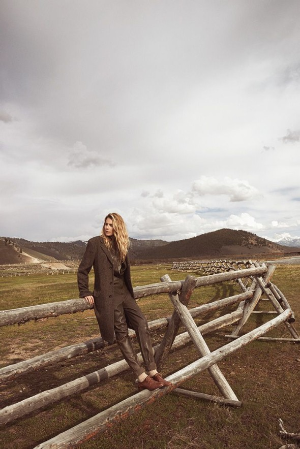 Dree Hemingway for Cole Haan Fall 2014