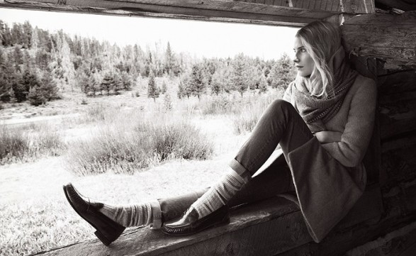 Dree Hemingway for Cole Haan Fall Autumn 2014