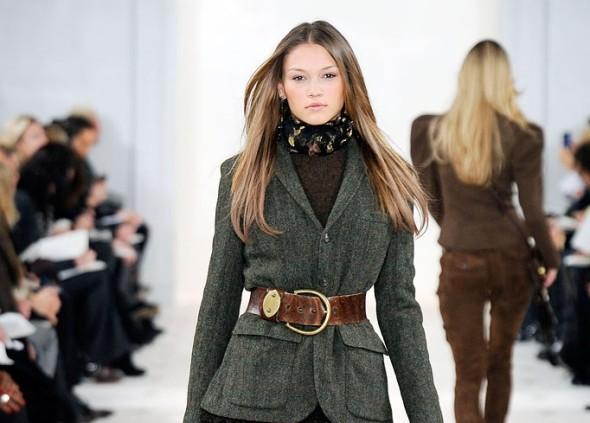 Belted Wool Blazer-Ralph Lauren