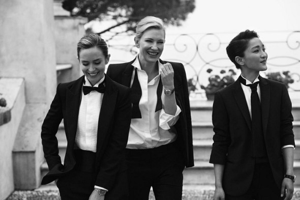 Cate Blanchett-Emily Blunt-Zhou Xun- Peter Lindbergh- IWC Portofino Midsize