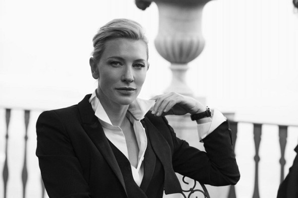 Cate Blanchett-Peter Lindbergh- IWC Portofino Midsize