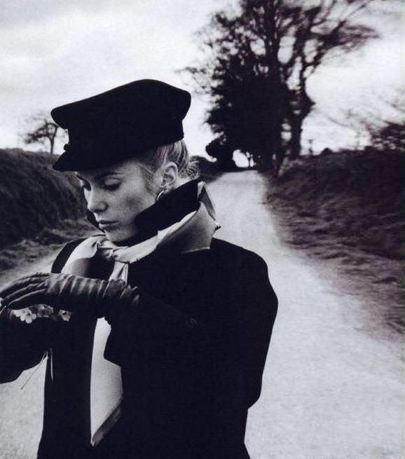Catherine Deneuve by David Bailey-1964