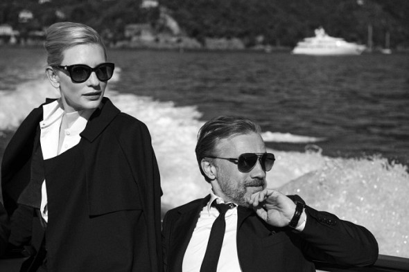 Cristoph Waltz-Cate Blanchett- Peter Lindbergh- IWC Portofino Midsize