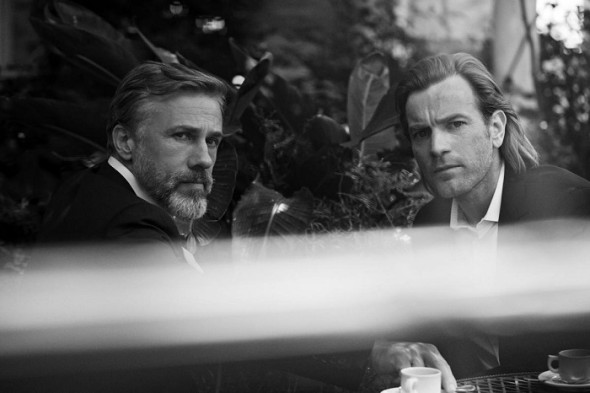 Cristoph Waltz-Ewan McGregor- Peter Lindbergh- IWC Schaffhausen