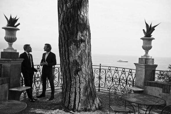 Cristoph Waltz-Ewan McGregor by Peter Lindbergh- IWC Portofino Midsize
