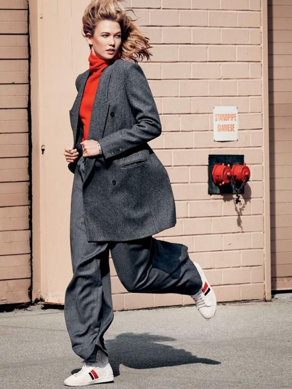 Karlie Kloss by Paola Kudacki Lucky magazine-october 2014