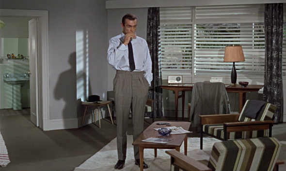 Sean Connery's style in Dr No-1