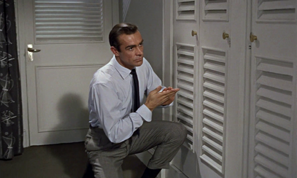 Sean Connery's style in Dr No-2