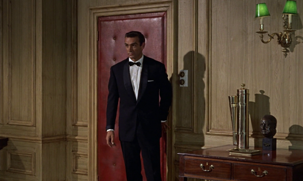 Sean Connery's style in Dr No
