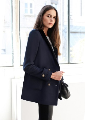 Sezane Hopper coat