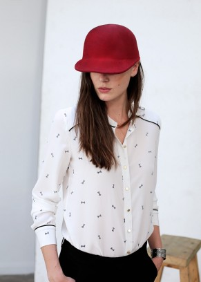 Sezane silk blouse