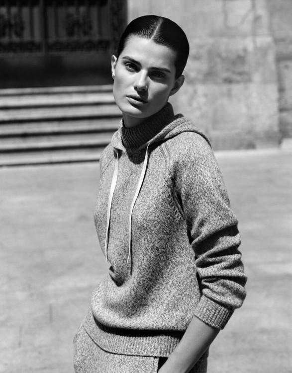 Stefanel Fall 2014 ad campaign-Isabeli Fontana-1