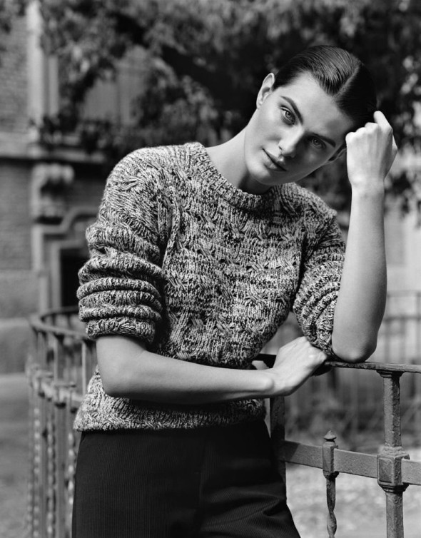 Stefanel Fall 2014 ad campaign-Isabeli Fontana