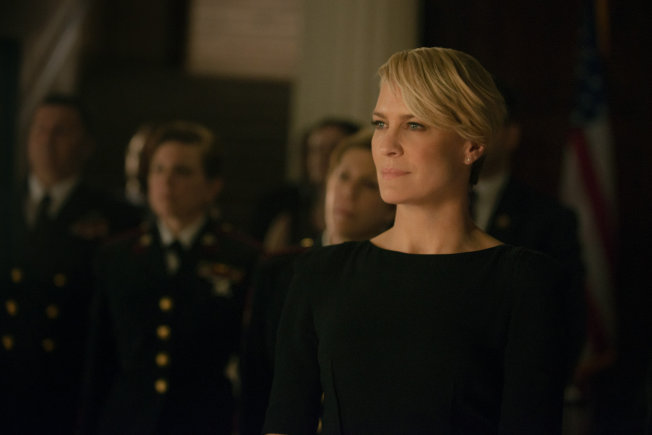 Style in Film: Robin Wright in House of Cards | Classiq