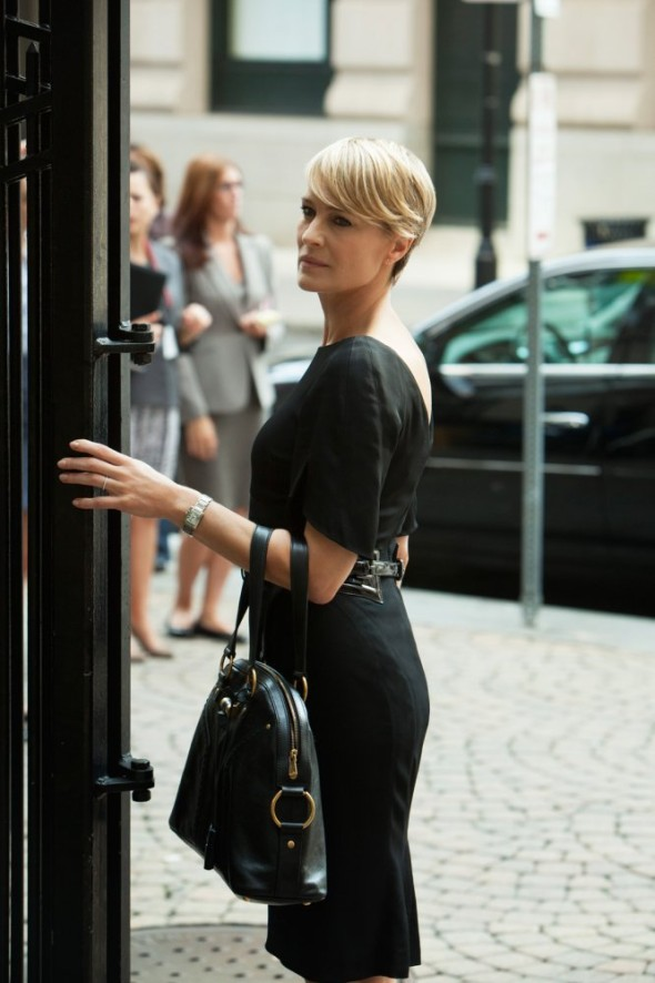 Style in Film-Robin Wright in House of Cards