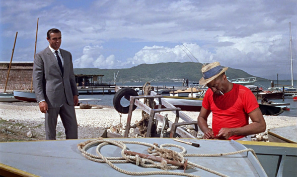 Style in film-Sean Connery in Dr No-3